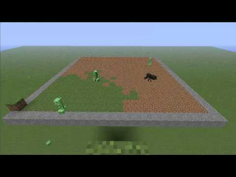 minecraft-grass-grow-2-&-1/2-hours-into-a-minute-and-half