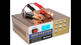 видео Зарядное устройство для автомобильного аккумулятора