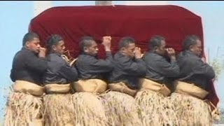 Tonga holds funeral of King George Tupou V - no comment