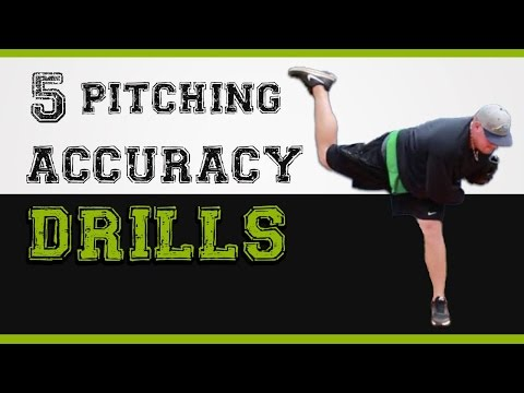 5 pitching drills for accuracy - How to pitch with more control