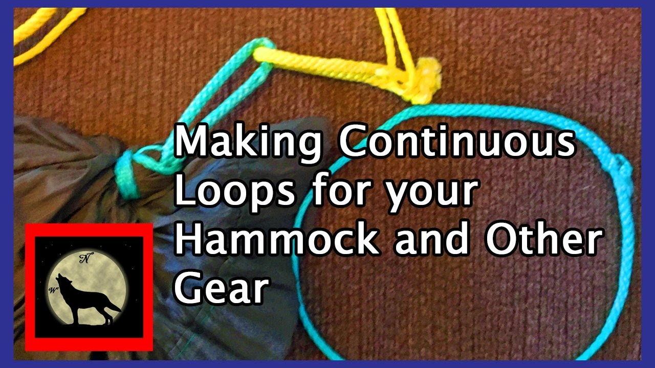 live making amsteel continuous loops for your hammock tarp and outdoor gear     live making amsteel continuous loops for your hammock tarp and      rh   youtube