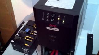 Output transfer relay faulty APC Smart 2200va ups