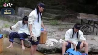 「花郎」メイキング映像1
