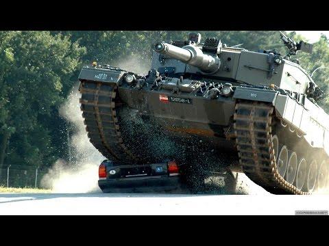 Немецкие танки Леопард 2 обзор. Военная техника Германии 2016.