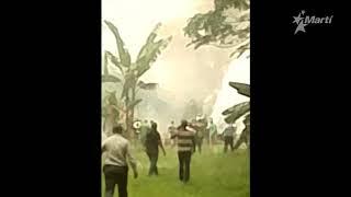 ¡Vamos, que está viva!: Rescate de una de las sobrevivientes de accidente aereo en #Cuba (VIDEO)