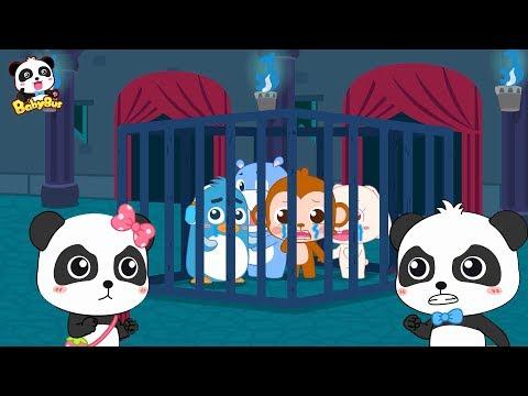 銆怤ew!銆慚ath Kingdom Adventure 12 | Baby Panda Defeats Devil King | Learn Math for Kids | BabyBus