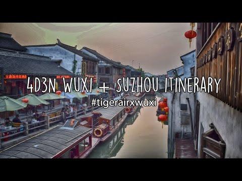 4D3N Wuxi + Suzhou - TigerAir Inaugural Flight #tigerairxwuxi