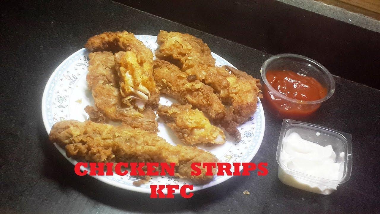 تشيكن ستربس Chicken Strips اجمد طريقة عمل اصابع الدجاج المقرمشه