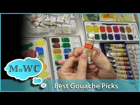 My Top 7 Artist Gouache Brand Picks. Opaque Watercolors
