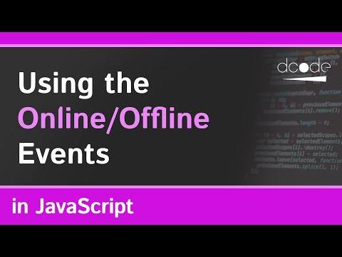 Online & Offline Events In Javascript