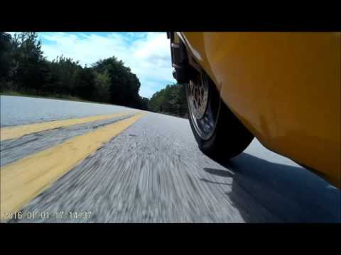 Ducati 996 -  Tennessee Roads - Chill ride -  Duo and rear flat tire