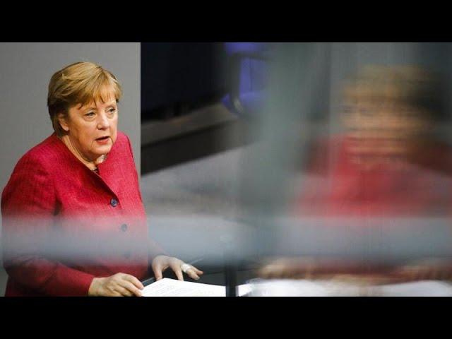 LIVE: Merkel wirbt im Bundestag für umstrittene Bundesnotbremse