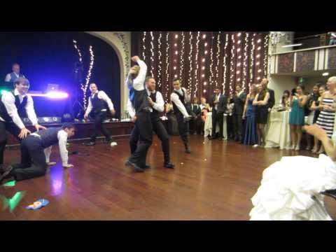 Groomsmen Dance 5.0 ver 2 (with bride reaction)