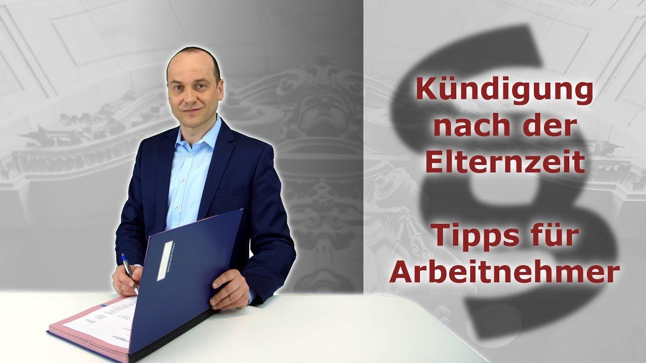 Kündigung Nach Der Elternzeit Tipps Für Arbeitnehmer Fachanwalt Alexander Bredereck