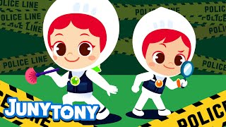 CSI | Job \u0026 Occupation Song for Kids | Kindergarten Song | Kids Job Experience Song | JunyTony