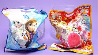 Frozen vs Princess Precure Bath Bomb Battle