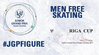 Riga - Men Free skating- ISU JGP  2017