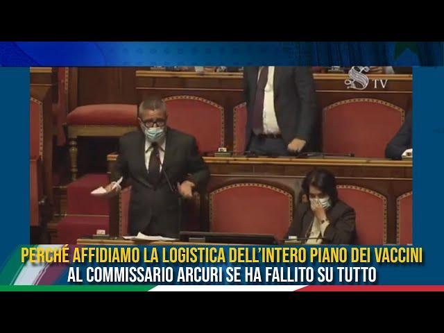 La dichiarazione di voto del Sen. Zaffini sulle comunicazioni del Ministro della salute