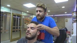 ASMR Turkish Barber Face,Head and Body Massage 147 👍💆♂️💈