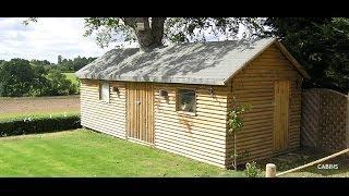 Log Cabin Construction In Hertfordshire Uk - Hammon Build