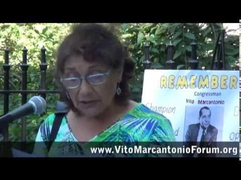 Vito Marcantonio Memorial @ City Hall Park, 2016 | Vito Marcantonio Forum