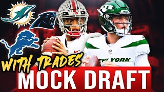 2021 NFL Mock Draft! 4 Straight QBs????