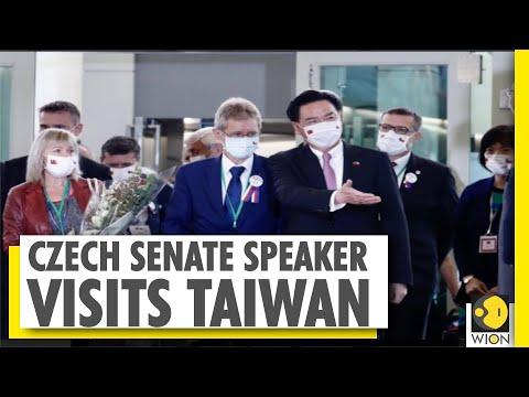 Czech Republic senate's visit to Taiwan angers China   WION News World News