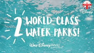 WALT DISNEY WORLD | Disney's Blizzard Beach And Typhoon Lagoon!  | Official Disney UK