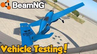 PLANE TESTING + Rock Crawler! - BeamNG.Drive v0.6.1 - BeamNG Freeroam Gameplay