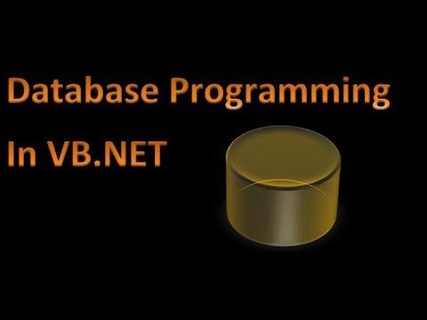 Database and VB.Net tutorials