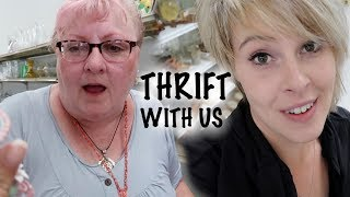 We Scoured the Thrift Store for Resale Treasures   Thrift with Us   Reselling