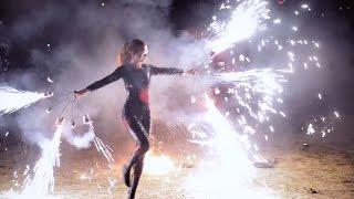 Соло Black Blues Show - фаер шоу в Ростове | Game Of Flame
