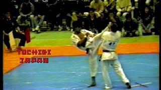 ★ 1992 栃木県空手道選手権大会 karate  tochigi japan