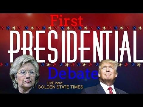 Presidential Debate: Hillary Clinton vs Donald Trump