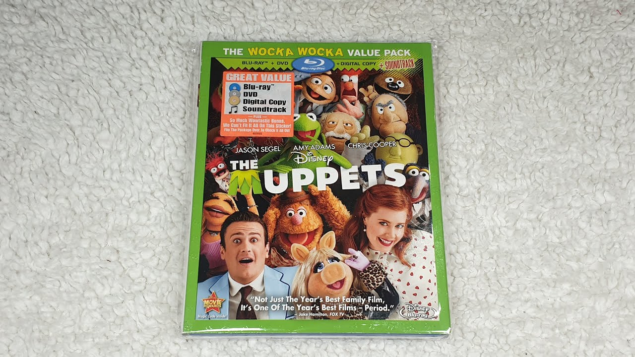 Download Disney The Muppets Region 1 Blu-ray Unboxing