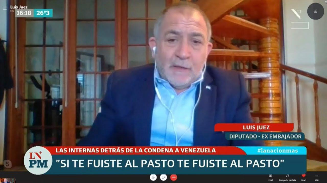 """Luis Juez: """"Alberto Fernández es totalmente incoherente, tiene triple discurso"""""""