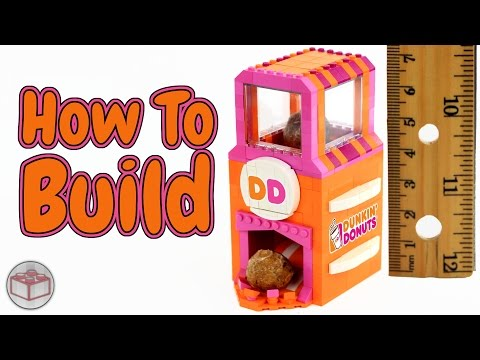 How To Build a LEGO Dunkin