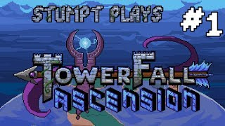 Stumpt Plays - Towerfall Ascension - #1 - The Comeback King (4 Player Gameplay)