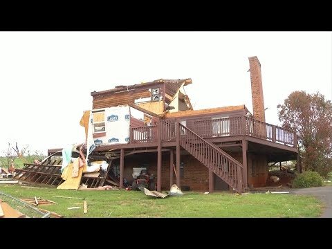 Several hurt after strong storms move through Amherst County