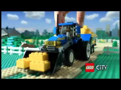 Lego City 7636 Kombajn 7637 Farma Whoosh Allegro Reklama Tv