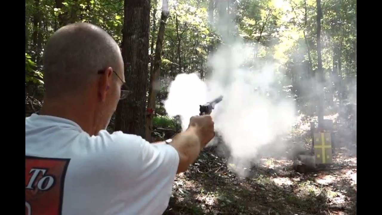 traditions 1851 navy black powder 44 caliber revolver youtube