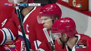 Россия-Чехия хоккей