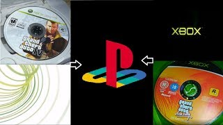 Inserting XBOX discs into Playstations
