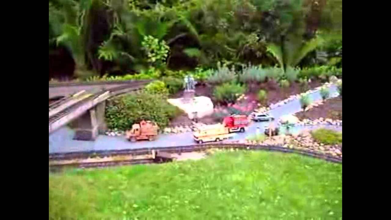 G Scale Train Backyard Layout 3