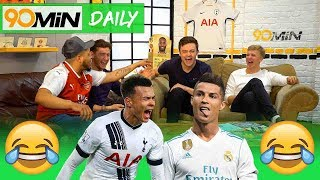 Are Spurs UCL contenders after Real Madrid win? | Is Aguero best PL striker ever!? | 90min Daily