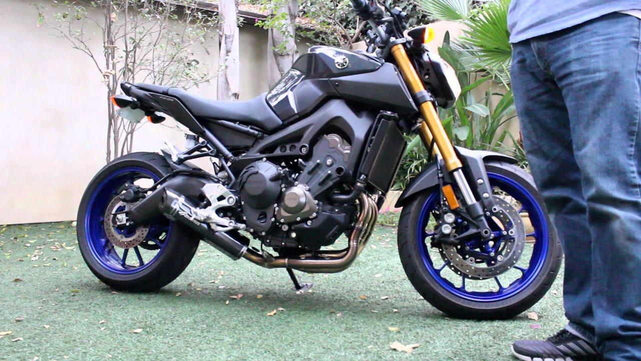 Yamaha Fz 09 Graves Motorsports Link Exhaust System Youtube