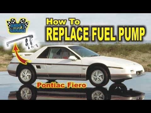How To Replace Fuel Pump – Pontiac Fiero (Andy's Garage: Episode – 32)