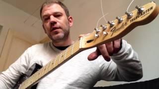 My homemade Fender Telecaster B Bender guitar