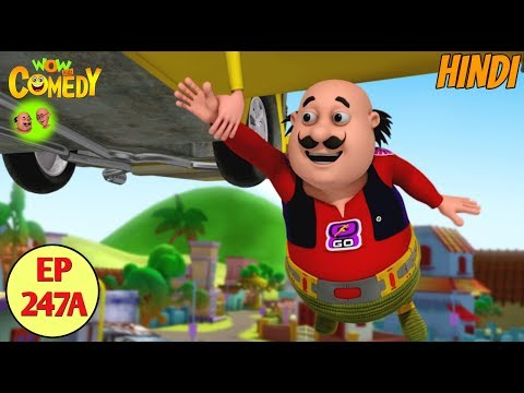 Motu Patlu in Hindi | 3D Animated Cartoon Series for Kids | Motu The Running Man thumbnail