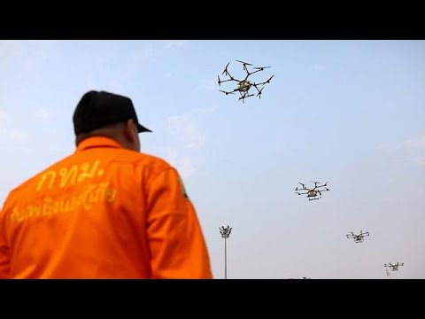 Thai officials deploy drones to battle air pollution, schools closed Mp3